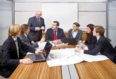 Management Meeting Stock Image
