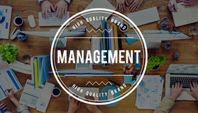 Management Organization Managing Controlling Concept Royalty Free Stock Photography