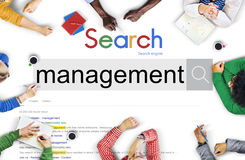 Management Organization Managing Controlling Concept Stock Photos