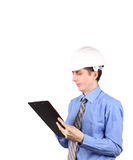 Management plan for construction Royalty Free Stock Images