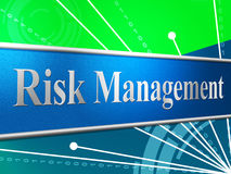 Management Risk Indicates Directorate Failure And Directors Royalty Free Stock Photo