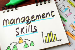 Management skills Royalty Free Stock Photography