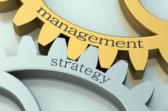 Management and Strategy concept Royalty Free Stock Images
