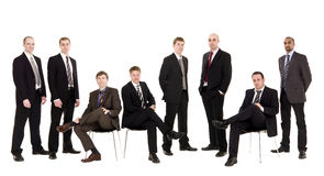 Management team Royalty Free Stock Photos