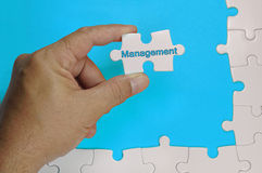 Management Text - Business Concept royalty free stock image