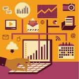 Management u. Technologie Lizenzfreies Stockbild
