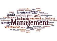 Management, word cloud concept 6. Management, word cloud concept on white background Royalty Free Stock Photo