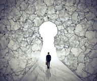 Managementlösungskonzept-Führungssymbol Lizenzfreie Stockbilder