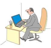 Manager stock illustratie