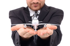Manager from airport Royalty Free Stock Images