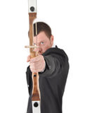 Manager with bow Stock Photography