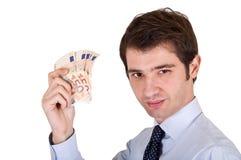Manager bundle euro Royalty Free Stock Images