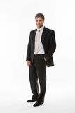 Manager in  business suit. Royalty Free Stock Images