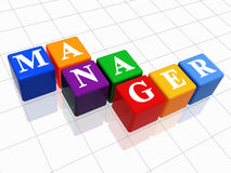 Manager in colour 2 royalty free stock photos