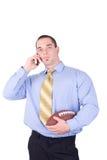Manager des amerikanischen Fußballs stockfoto