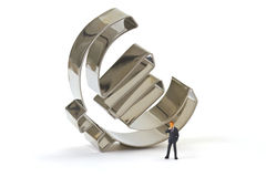 Manager with Euro Symbol Stock Images