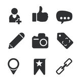 Manager icons design Royalty Free Stock Photos
