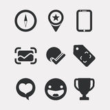 Manager icons design Stock Photography