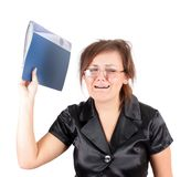 Manager, isolated. Stock Image