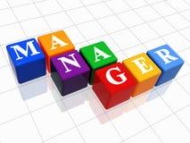 Manager in kleur 2 Royalty-vrije Stock Foto's