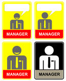 Manager, office worker Royalty Free Stock Images