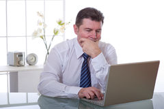 Manager op het werk royalty-vrije stock foto