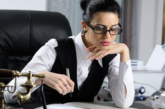 Manager Planning Stock Image