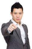 Manager pointing to you Stock Images
