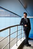 Manager in suit Royalty Free Stock Image