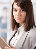 Manager with tablet at the office Stock Image