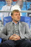 Manager of Ukraine soccer team Yuriy Kalytvintsev Stock Photo