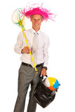 Manager on vacation Stock Photography