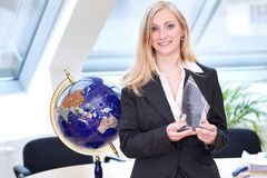 Manager van het jaar Royalty-vrije Stock Afbeeldingen