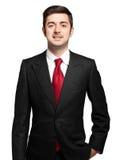 Manager on white background Stock Image