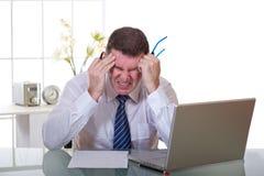 Manager at work stock photos