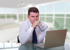 Manager at work Stock Images