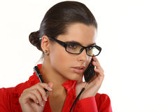 Manager at work Royalty Free Stock Photo