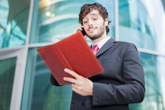 Manager at work Royalty Free Stock Images