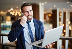 Manager at work Royalty Free Stock Photography