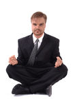 Manager and yoga Stock Photo
