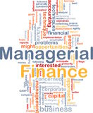 Managerial finance is bone background concept Royalty Free Stock Photo