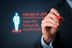 Managerial skills Stock Photo