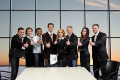 Managers of big business companies. Royalty Free Stock Image