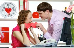 Managers In Love Stock Photos