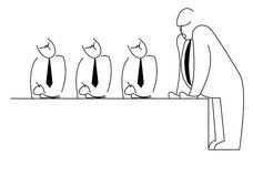 Managers meeting Stock Images