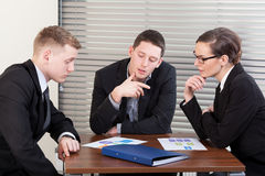 Managers meeting Stock Photos