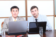 Managers in the office Royalty Free Stock Photos