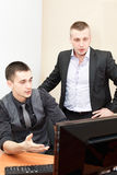 Managers in office Royalty Free Stock Photos