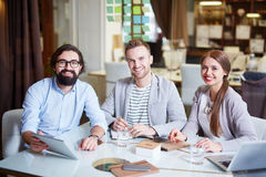 Managers in office Stock Images