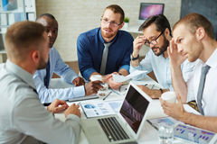 Managers at work Stock Photography
